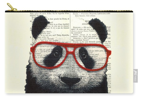Panda Nursery Art Carry-all Pouch