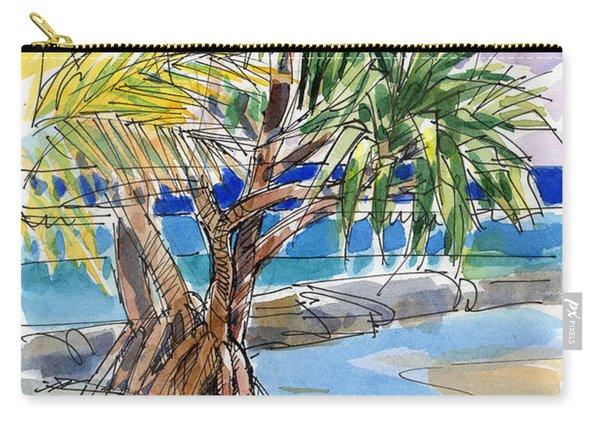 Pandanus Tree On Tapuaetai, Aitutaki Carry-all Pouch