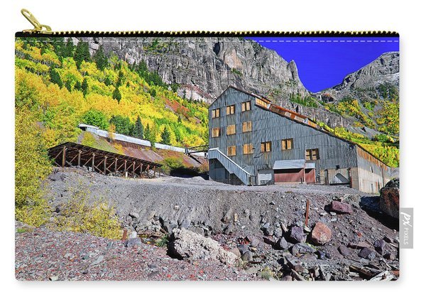 Pandora Mill - Telluride - Colorful Colorado Carry-all Pouch