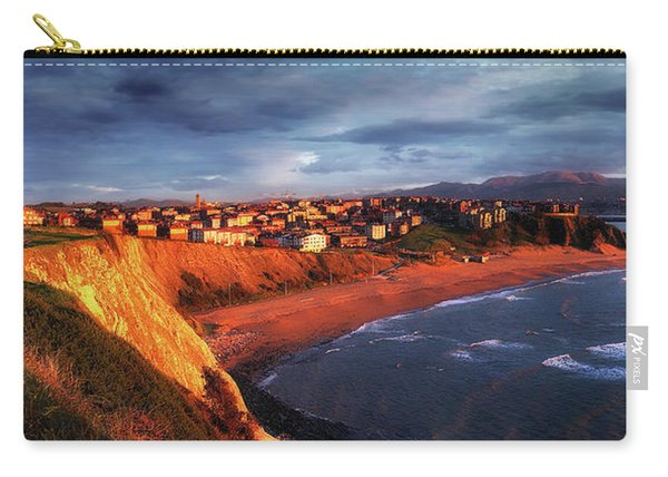 Panorama Of Aixerrota Sunset Carry-all Pouch