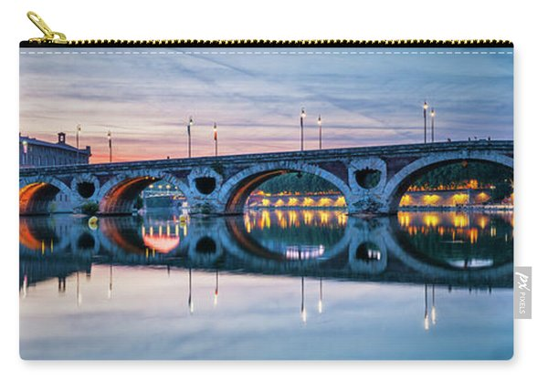 Panorama Of Pont Neuf In Toulouse Carry-all Pouch