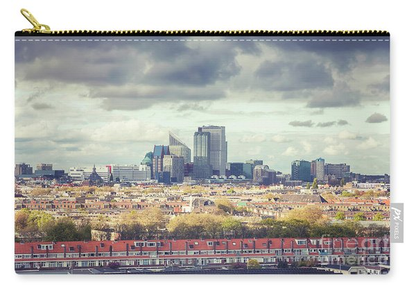 panorama of the Hague modern city Carry-all Pouch