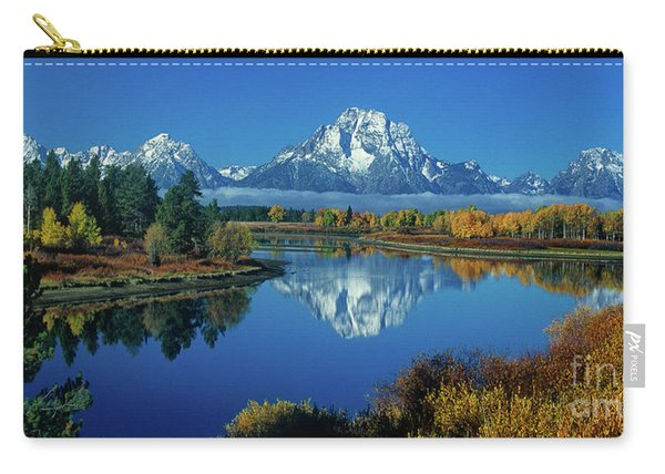 Panorama Oxbow Bend Grand Tetons National Park Wyoming Carry-all Pouch