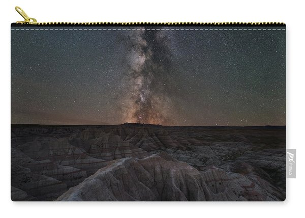 Panorama Point Milky Way Badlands 8x10 Carry-all Pouch