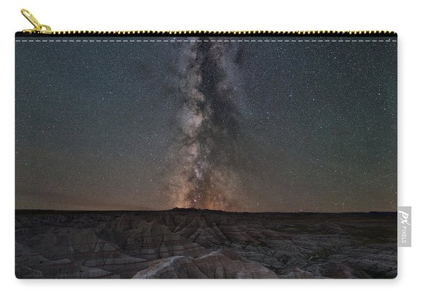 Panorama Point Milky Way Square Version Carry-all Pouch