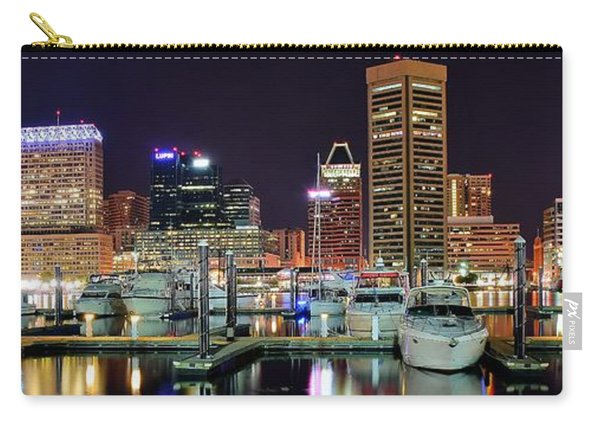 Panoramic Baltimore Carry-all Pouch
