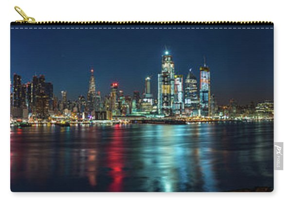 Panoramic Skyline-manhattan Carry-all Pouch