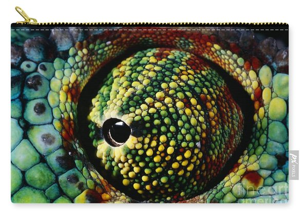 Panther Chameleon Eye Carry-all Pouch