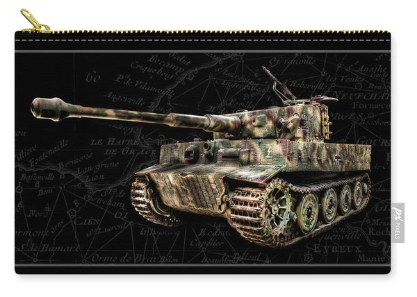 Panzer Tiger I Side Bk Bg Carry-all Pouch