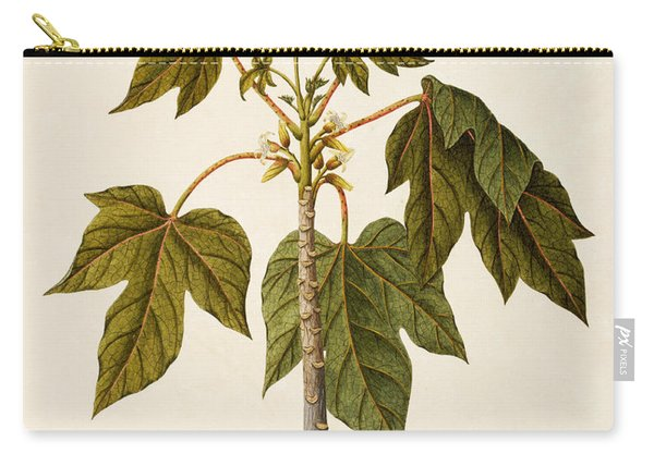 Papaya Tree Carry-all Pouch