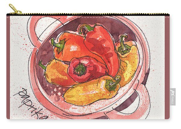 Paprika Carry-all Pouch