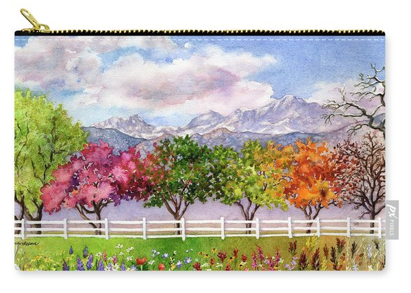 Parade Of The Seasons Carry-all Pouch