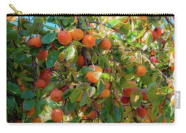 Paradise For Persimmons Carry-all Pouch