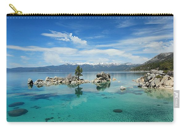 Carry-all Pouch featuring the photograph Paradise Found by Sean Sarsfield