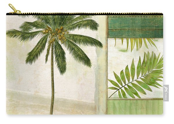Paradise II Palm Tree Carry-all Pouch