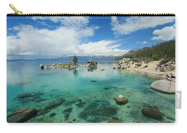 Carry-all Pouch featuring the photograph Paradise In May by Sean Sarsfield