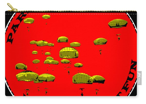 Paratrooper Fun Carry-all Pouch