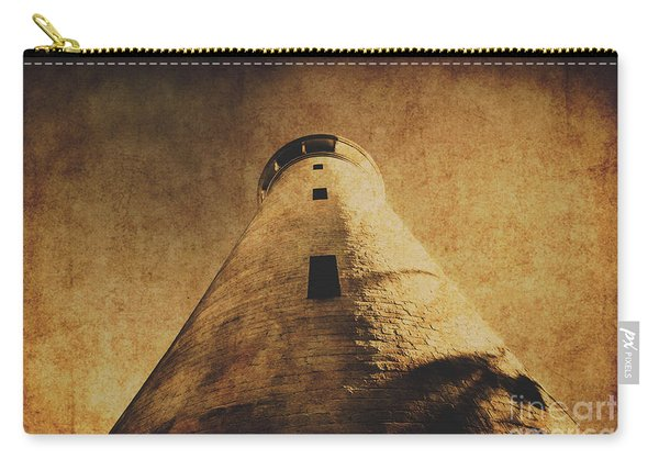 Parchment Paper Lighthouse Carry-all Pouch