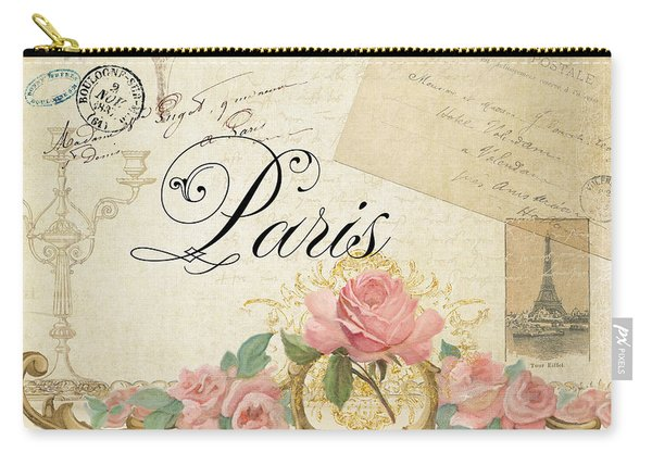 Parchment Paris - Timeless Romance Carry-all Pouch
