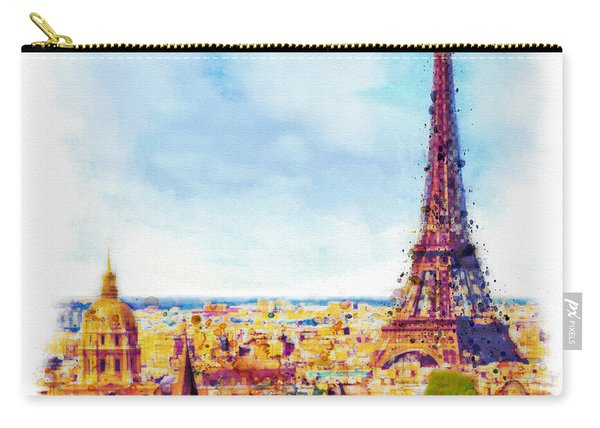 Paris Aerial View Carry-all Pouch