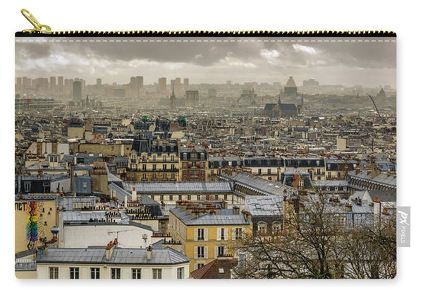 Paris As Seen From The Sacre-coeur Carry-all Pouch
