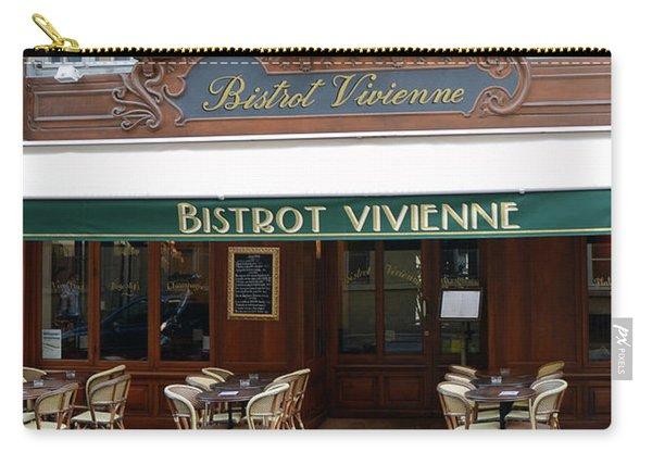 Paris Bistrot Vivienne Galerie Vivienne - Parisian Cafes Bistros Carry-all Pouch