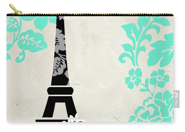 Paris Blues Carry-all Pouch