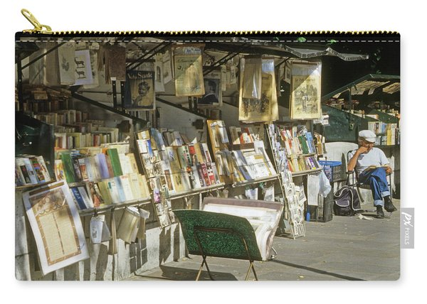 Paris Bookseller Stall Carry-all Pouch
