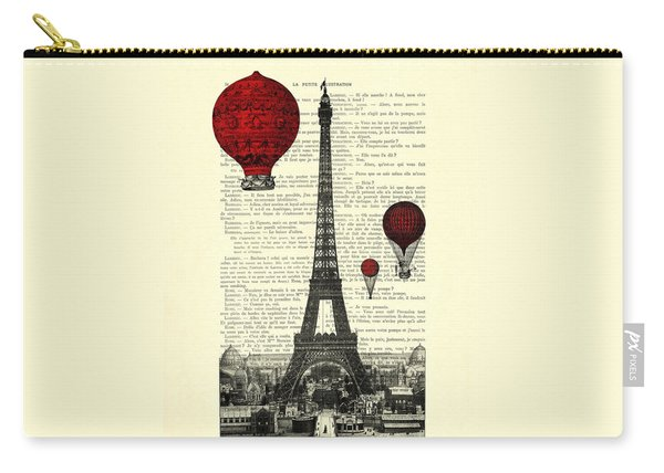 Paris, City Of Love Carry-all Pouch