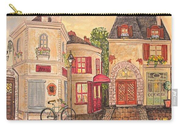 Paris Street Scene-jp2866 Carry-all Pouch