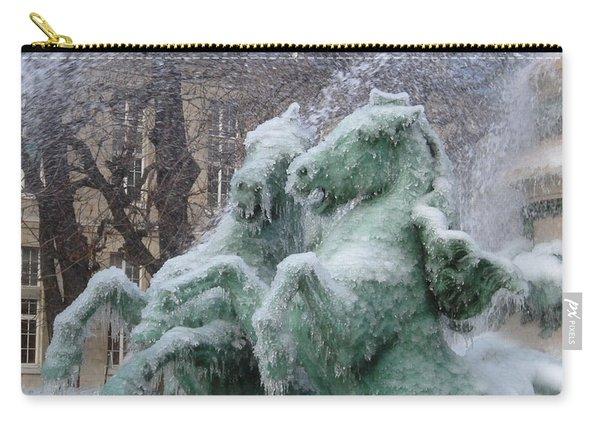 Paris Winter Carry-all Pouch