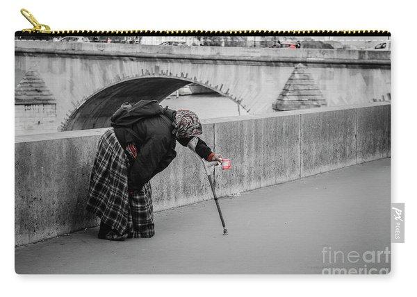 Parisian Beggar Lady Carry-all Pouch