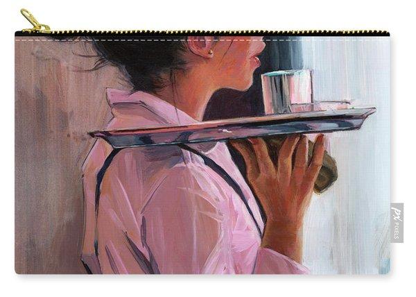 Parisian Waitress Carry-all Pouch