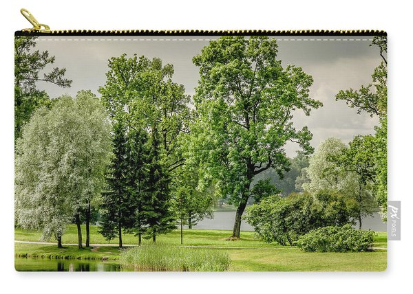Park At Catherine's Palace Carry-all Pouch