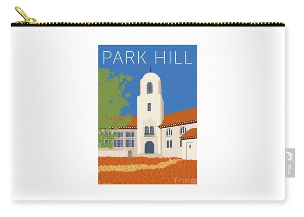 Park Hill Blue Carry-all Pouch