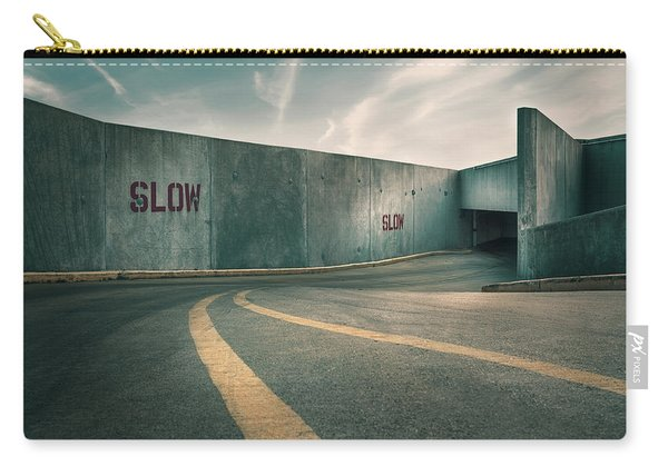 Parking Garage At The End Of The World Carry-all Pouch