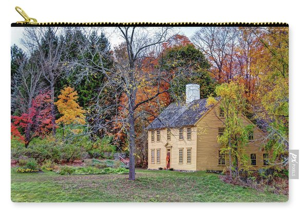 Parson Barnard House In Autumn Carry-all Pouch
