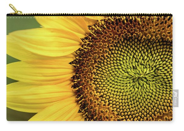 Part Of A Sunflower Carry-all Pouch