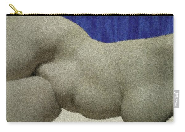 Partial Nude At Rest Carry-all Pouch