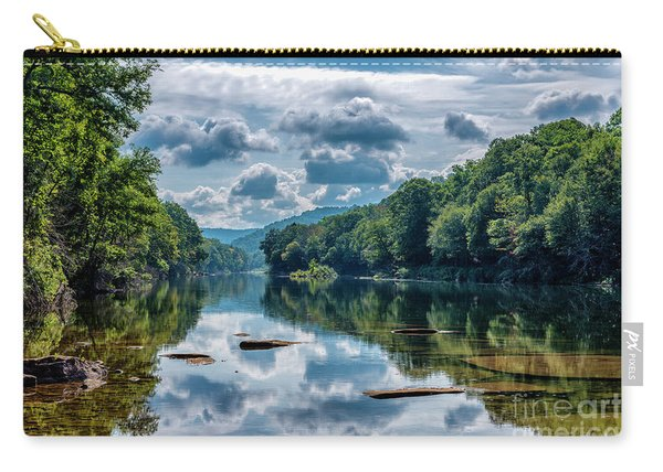 Partially Cloudy Gauley River Carry-all Pouch