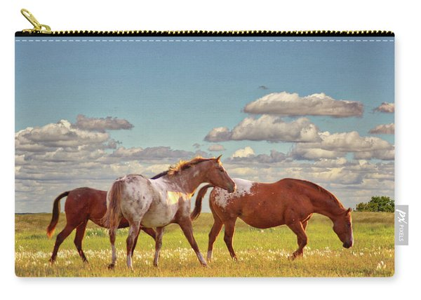 Party Of Three Carry-all Pouch