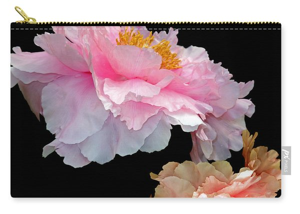 Pas De Deux Glowing Peonies Carry-all Pouch
