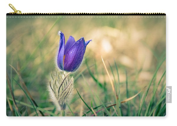 Pasque Flower Carry-all Pouch
