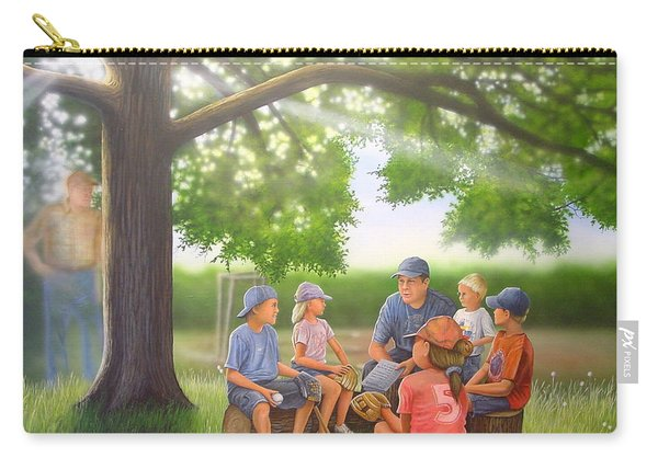 Pass It On - Baseball Carry-all Pouch