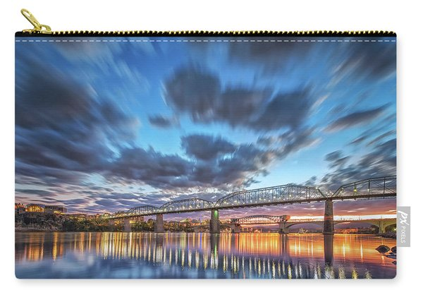 Passing Clouds Above Chattanooga Carry-all Pouch