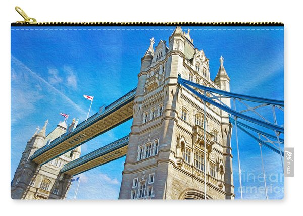 Passing Under Tower Bridge Carry-all Pouch