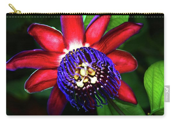 Passion Flower Carry-all Pouch