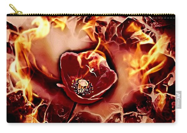 Passions Flame Carry-all Pouch