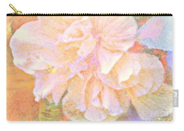 Pastel Hibiscus Carry-all Pouch