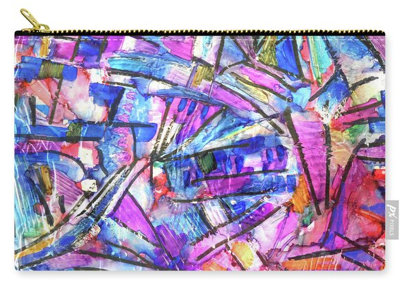 Pastel Kaleidoscope Carry-all Pouch